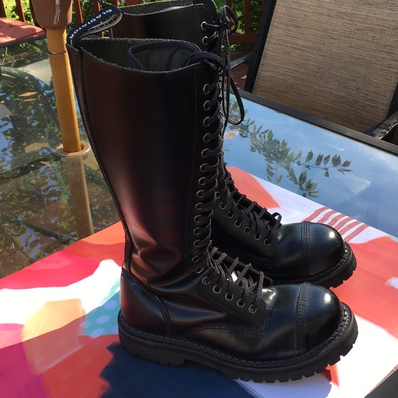 fe926679cf gladiator Shoes | Sentinel Cosplay Punk Goth Combat Boot | Poshmark
